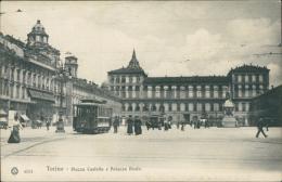 ITALIE TURIN / Piazza Castello E Palazzo Reale / - Palazzo Reale