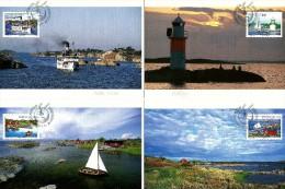 Sweden - 2004 - Stockholm Archipelago - Maximum Card Set - Maximumkarten (MC)