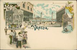 ITALIE VENEZIA / Vue Intérieure, Il Ponte Dei Sopiri, Palazzo Ducale / CARTE COULEUR - Venezia