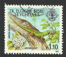 Seychelles, 1.10 R, 1981, Scott # 403B, Used - Seychelles (1976-...)