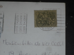 LETTRE PORTUGAL AVEC YT 784 - SCEAU DU ROI DENIS - MULTIVUES LISBONNE LISBOA - - 1910-... République
