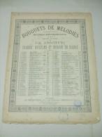 Partition Bouquets De Mélodies : MIGNON (1ère Suite) Opéra De Ambroise THOMAS - Opern