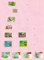 Portugal N°1287, 1289, 1291, 1293, 1296, 1297, 1299, 1300, 1302 à 1305 Côte 3.35 Euros - 1910-... République
