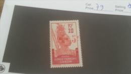 LOT 226890 TIMBRE DE COLONIE GABON NEUF* N�79 VALEUR 27 EUROS