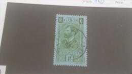 LOT 226898 TIMBRE DE COLONIE GABON OBLITERE N�140 VALEUR 18,5 EUROS