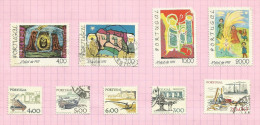 Portugal N°1364 à 1372 Côte 3.35 Euros - 1910-... République