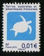 T.A.A.F. // F.S.A.T. 2014 - 1c Tortue Très Rare  - 1 Val Neufs // Mnh - French Southern And Antarctic Territories (TAAF)