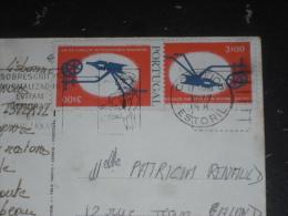 LETTRE PORTUGAL AVEC YT 1285 - SOCIETE DES AUTEURS - FLAMME ESTORIL - LISBOA LISBONNE - - 1910-... République