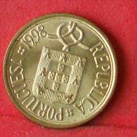 PORTUGAL  5  ESCUDOS  1998   KM# 632  -    (Nº08438) - Portugal