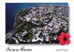 974 - ILE DE LA REUNION -  Océan Indien Ile Bourbon -  SAINT DENIS  Vue Aérienne - Saint Denis