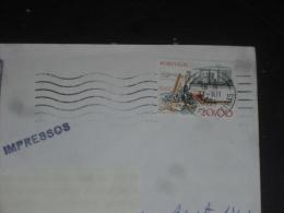 LETTRE PORTUGAL AVEC YT 1372 - MACON MACONNERIE CHANTIER - - 1910-... République
