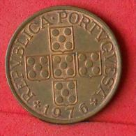 PORTUGAL  1  ESCUDOS  1976   KM# 597  -    (Nº08453) - Portugal