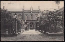 Gheel - Geel - L'INFIRMERIE 1909 (geanimeerd) - édit. Hotel De L'agneau Van Mulders - Geel