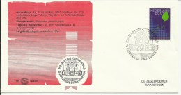 1984  Vrijmetselaars Loge Union Royale 's Gravenhage  Freemason  250th Anniversary Union Royale - Francmasonería