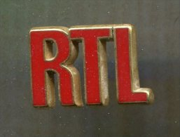 Pin's - Média Musique Radio RTL - Medien