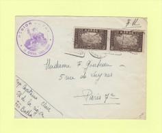Region De Fes - Maroc - Destination Paris - Briefe U. Dokumente