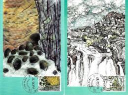 Bosnia & Herzegovina - Mostar - 2001 - Europa CEPT - Water - Maximum Card Set - Bosnia Erzegovina