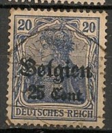Timbres - Allemagne - Occupation - Zone Belge - 20 Cent. - - Zona Belga