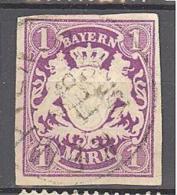 Allemagne Baviere: Yvert N° 36°; Used; Cote 100.00; Voir Scan - Bayern