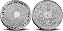 "HOLANDA   5€  2011  2.011  PLATA/SILVER   SC/UNC   ""50 JAAR WNF""   DL-10.011 - Paises Bajos"