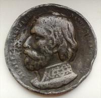 Medaille Nizza Frankreich - Giuseppe Garibaldi 1807 - Bodenfund 48 Mm. - Francia