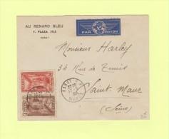 Rabat - Maroc - Par Avion Pour Saint Maur - 17-5-1939 - Marokko (1891-1956)