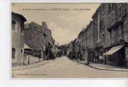 LAGNIEU - Rue Des Cafés - Très Bon état - Autres Communes