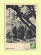 Musee Du Bardo - Alger - 1957 - Carte Maximum - Covers & Documents
