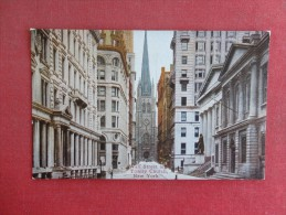New York> New York City > Manhattan Wall Street & Trinity Church     Ref 1535 - Manhattan