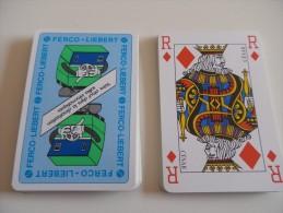 jeu de 32 cartes � jouer - FERCO LIEBERT climatisation salles informatiques