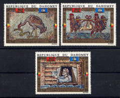 DAHOMEY - N° A157/159** - SAUVEGARDE DE VENISE - Benin – Dahomey (1960-...)