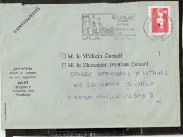 FLAMME    81  GAILLAC - Mechanical Postmarks (Advertisement)