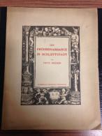 SCHLETTSTADT SELESTAT ALSACE ELSASS FRUEHRENAISSANCE  RUNDSCHAU STRASBOURG ARCHITECTURE 1911 ( PHOTOS ) - Architecture