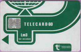 Malte  22  :-.   Telecard  Corpo  Verte  -  Lm3  -  Sc7  0806  **   T B E - Malte