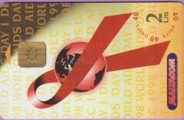 Malte  83  :-.   1  Decembre  1998  °=°  World  Aids  Day   ***   LUXE - Malte