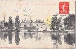 71. MONTCEAU-LES-MINES. Bureaux De La Compagnie Des Mines De Blanzy - Montceau Les Mines