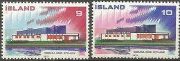 Islande 1973 431 - 432 ** Norden - �mission commune Danemark