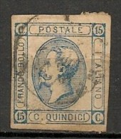 Timbres - Italie - 1863 - 15 C. -