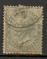 Timbres - Italie - 1863 - 5 Centesimi -