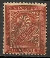 Timbres - Italie - 1863-1865 - 2 Centesimi -