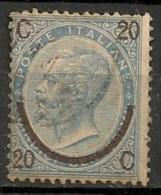 Timbres - Italie - 1863-1865 - 20 Centesimi - - 1861-78 Vittorio Emanuele II