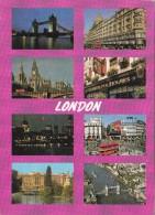 Big Card,Greetings From London,England,L16. - London