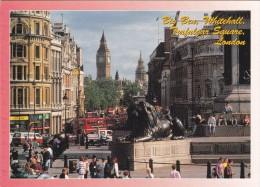 Big Card,Big Ben,Whitehall,Trafalgar Square,London,England,L16 . - Trafalgar Square