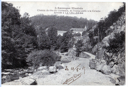 La Cellette (Puy-de-Dôme) Chemin De Chavanon,  Vers Bourg-Lastic. - Sin Clasificación