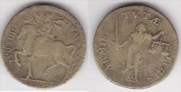 JETON LOUIS XIV En Laiton à Identifier, Diamètre 25 Mm (voir Scan) - Royal / Of Nobility