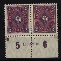 D.R.171,HAN + DZ R,F.96, Mit Falz (7580) - Deutschland