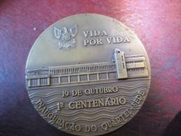 PORTUGAL- BOMBEIROS VOLUNTARIOS DE SETUBAL - VIDA POR VIDA Num 98/1000 - VOIR PHOTOS - Royal / Of Nobility
