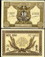 FRENCH INDOCHINA   10 CENTS  P 89   F Vf - Indochina