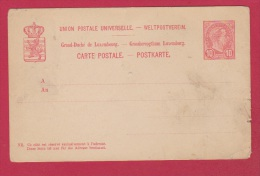 LUXEMBOURG  //  Entier Postal  --    Vierge - Stamped Stationery