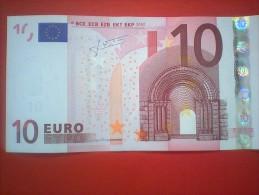 BILLET 10 EUROS 2002  -   N 032 C3  -  N Y 17714480518  - - 10 Euro